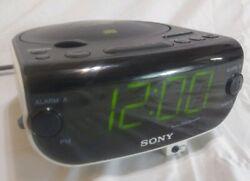 SONY Dream Machine CD Player ICF-CD815 FM/AM Radio CD-R/RW Dual Alarm Clock