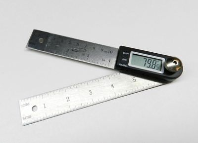 Igaging Digital Protractor With 7 And 4 Stainless Steel Blade 35-407
