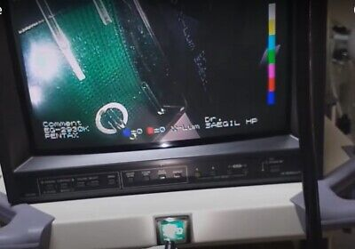 (World Wide-TransPortable)JVC TM-H150CG Color CRT Monitor Medical Monitor Gaming