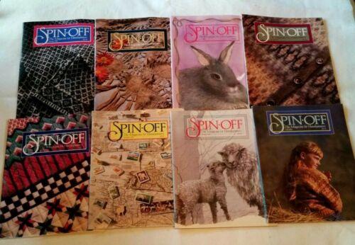 8 SPIN OFF MAGAZINES 1990 & 1991 SPRING, SUMMER, FALL & WINTER