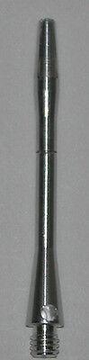 1 Set Aluminum CENTER SPIN - SILVER MEDIUM Premium spinning dart shafts