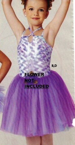 NWOT Velvet double strap camisole with Romantic Tutu Orchid Small ch girls 4-6