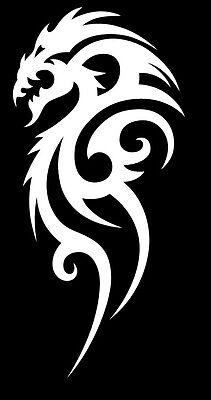 Dragon decals, dragon sticker, tribal dragon vinyl decal ()