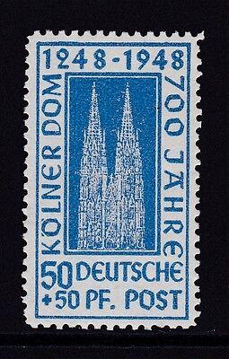 """Alliierte Bes. 72 YA I """"Kölner Dom"""" postfrisch mit seltenem Plattenfehler !!"""