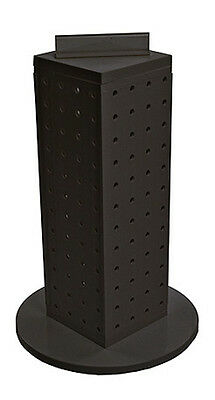 New Retail Black Pegboard Interlocking Counter Unit Display 4 X 4 X 13