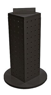New Retail Black Pegboard Interlocking Counter Unit Display 4 X 4 X 13