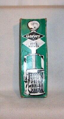 vintage GARVEY supreme price marker for marking retail sales stickers - used