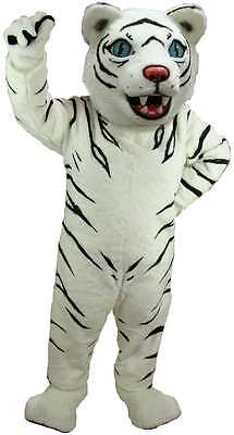 White Tiger Professional Quality Lightweight Mascot Costume Adult Size](White Tiger Costumes)