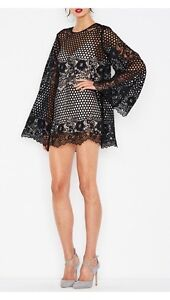 BNWT Alice McCall Like I Would Dress Black Lace 12 $420 Epping Ryde Area Preview