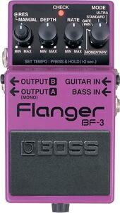 Boss and Digitech Flanger Pedals for Trade