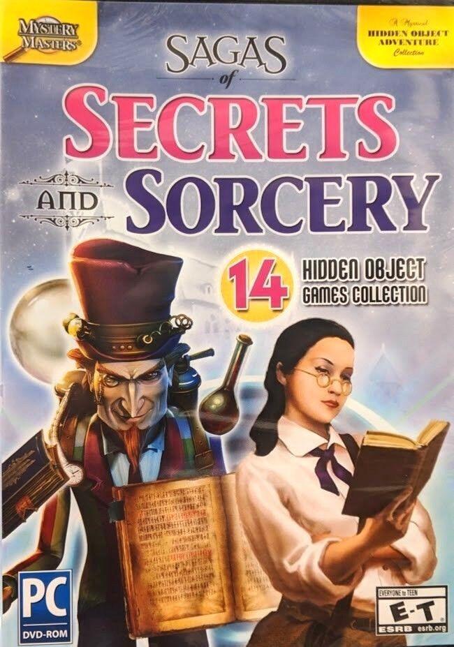 Computer Games - Sagas Of Secrets And Sorcery PC Games Windows 10 8 7 XP Computer hidden object