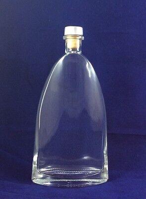Glas Getränkeflaschen (Glas Flasche Schnapsflasche Getränk Likör 340 ml Glasflasche mit Korken)