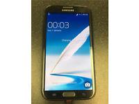 Samsung Galaxy Note 2 Grey on Three *GOOD CONDITION*