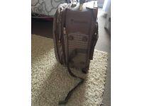Vintage voyager suitcase