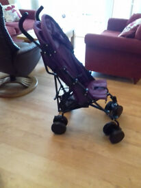 BUGGY - NEVER USED -RED KITE STROLLER