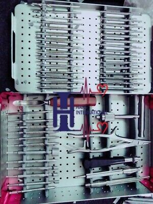 Orthopedic Broken Screw Removal Instrument Set Of Orthopedic Spine Instruments