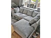 Cheapest Sale Upto 20%Off On Brand New Crush Velvet Corner Couch & 3+2 Seater In Stock Order Now..