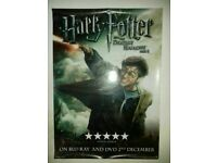 Harry Potter and the Deathly Hallows Posters x 2
