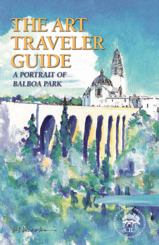 The Art Traveler Guide: A Portrait of Balboa Park by RD Riccoboni