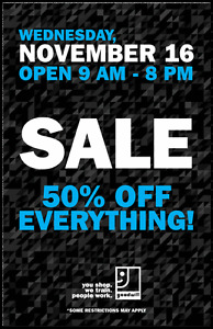 50% OFF EVERYTHING at Goodwill on November 16 London Ontario image 2