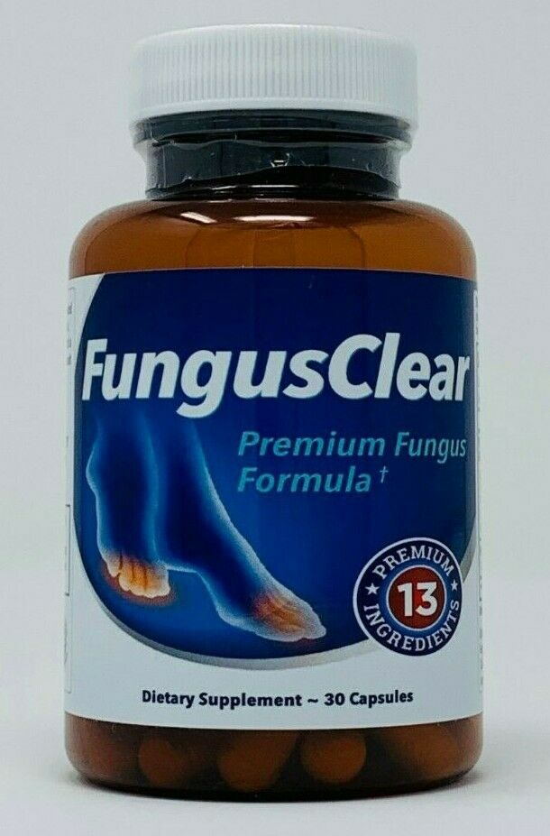 FungusClear Premium Formula 30 Capsules - NEW - EXP: 2022 Fungus Clear Nails