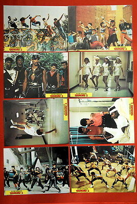 BREAKDANCE 2 ELECTRIC BOOGALOO 1984 8x RARE EXYU LOBBY CARDS
