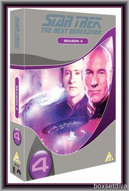 STAR TREK THE NEXT GENERATION - COMPLETE FOURTH SEASON 4 -  **BRAND NEW DVD**