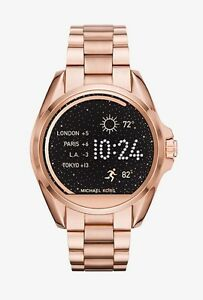 Michael Kors Rose Gold Bradshaw Smartwatch