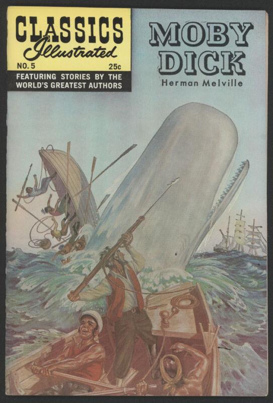 CLASSICS Illustrated #5, HRN 169, 1971, Gilberton