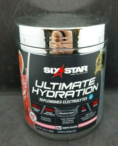 Six Star Ultimate Hydration 50 servings, Exp-09/2021+, #4296