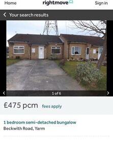 To rent NOW one Bedroom bungalow