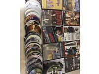 134 genuine DVD films
