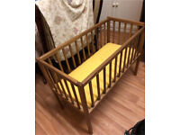 BRAND NEW WOODEN COT