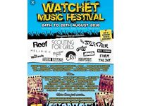 Sunday watchet festival ticket