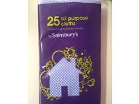Sainsbury's All Purpose Cleaning Cloths