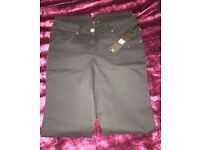 Stunning black jeans size 8 Gok New with Tags