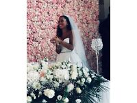 Luxury Flower Wall for hire