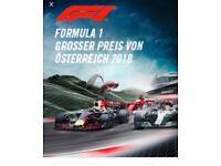 Full weekend F1 ticket