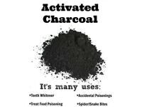 ACTIVATED CHARCOAL TEETH WHITENING ORGANIC BEAUTY POWDER MASK MAKING FREE POSTAGE