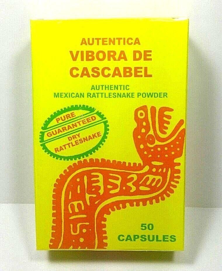 3 Rattlesnake Vibora de Cascabel 150 Capsules + 3 Jabon Vibora Cascabel 4.93 oz 7