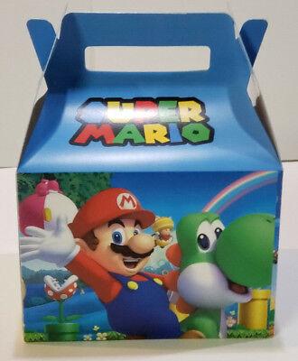 Super Mario Favor Boxes (10 SUPER MARIO PARTY FAVOR)
