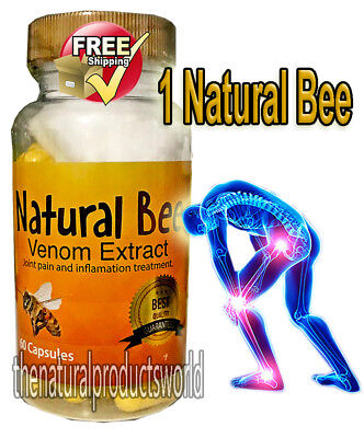 NATURAL BIOBEE anti-inflamatory Extracts Arthritis abeemed bio bee therapy NIB