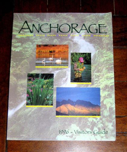 BOOK: Anchorage Alaska 1996 - Visitors Guide / Wildlife North South Map Traveler