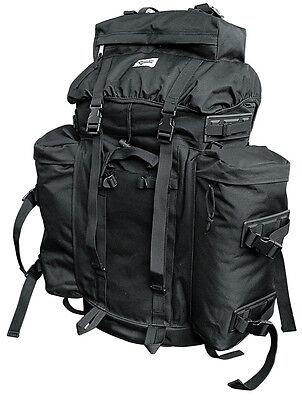 Bw Ejército Alemán Senderismo Mochila Trekking US Mountain Pack Exterior Negro