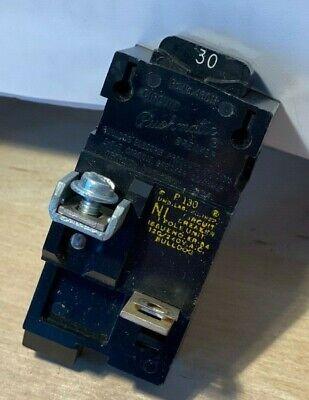 ZF-31D 15A .. 1P . P115 or  3115 . * Pushmatic Bulldog Circuit Breakers .