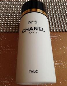 HUGE 150g BEYOND RARE CHANEL No 5 PARFUMED TALCUM TALC BODY POWDER  DISCONTINUED
