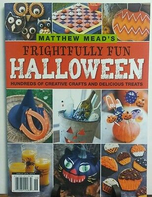 Matthew Meads Frightfully Fun Halloween Creative Crafts Treats  FREE SHIPPING sb (Halloween Creative Treats)