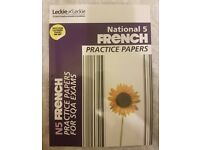 National 5 French Practice Papers by Leckie & Leckie