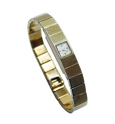 DEAL! VACHERON & CONSTANTIN Vintage Ladies Bracelet Watch 18K Gold 27gr Estate