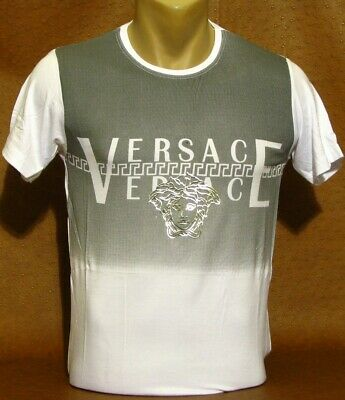 Brand New With Tags Men's VERSACE Short Sleeve T-SHIRT Size L